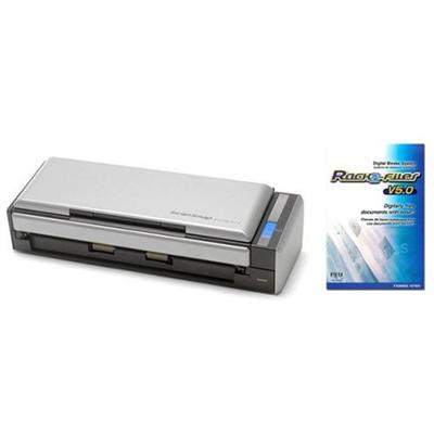 Fujitsu ScanSnap S1300i Instant PDF Multi Sheet-Fed Scanner / Rack2-Filer v5.0 Software Bundle (PA03643-B015)