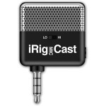 IK Multimedia iRig Mic Cast Voice Recorder IP-IRIG-CAST-IN
