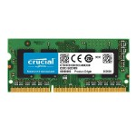 Crucial 4GB DDR3 1333 MT/S (PC3-10600) CL9 SODIMM 204PIN 1.35V/1.5V FOR MAC CT4G3S1339M