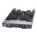 """Supermicro SuperBlade SBI-7227R-T2 - 2 nodes - cluster - blade - 2-way - RAM 0 MB 2.5"""" - no HDD - MGA G200eW - GigE - monitor: none"""