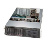 Supermicro SC835 XTQ-R982B - Rack-mountable - 3U - SATA/SAS - hot-swap 980 Watt - black