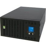 Smart App Sinewave PR5000LCDRTXL5UTAA - UPS (rack-mountable) - AC 208-240 V - 4 kW - 5000 VA 9 Ah - RS-232, USB - output connectors: 5 - 5U - TAA Compliant