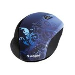 Wireless Notebook Optical Mouse, Design Series - Blue