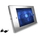 Enclosure - Mounting kit for tablet - aluminum - silver - wall-mountable - for Apple iPad (3rd generation); iPad 2