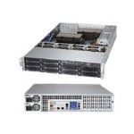 "Supermicro SuperServer 6027AX-72RF - Server - rack-mountable - 2U - 2-way - RAM 0 MB - SAS - hot-swap 3.5"" - no HDD - G200eW - GigE - monitor: none"