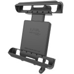 "Locking Cradle for 10"" Screen Tablets WITH HEAVY DUTY CASES including the Apple iPad 1-4"