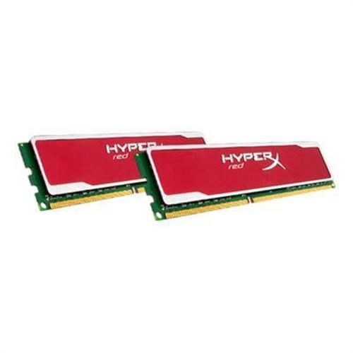 Kingston 8GB (2X4GB) 1600MHz DDR3 SDRAM DIMM 240-pin Unbuffered Non-ECC CL9 XMP HyperX Blu Red Series