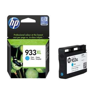 HP 933XL High Yield Cyan Original Ink Cartridge (CN054AN#140)