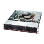 Supermicro SC216 BE26-R920LPB - Rack-mountable - 2U - enhanced extended ATX - SATA/SAS - hot-swap 920 Watt - black