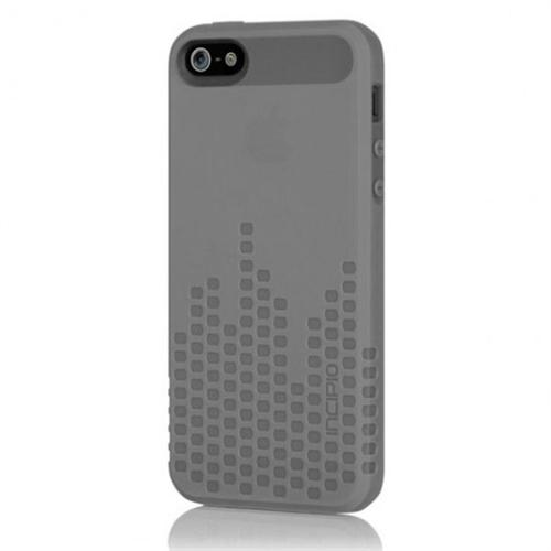 Incipio Frequency for iPhone 5 - Semi Rigid Soft Shell Case - Translucent Mercury Gray