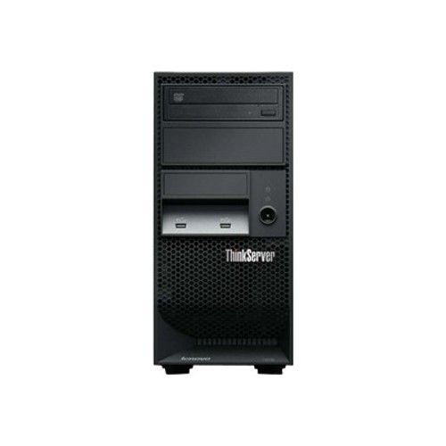 Lenovo ThinkServer TS130 1100 Intel Xeon Quad-Core E5-1225V2 3.20GHz Tower Server - 4GB RAM, No HDD, DVD-ROM, Gigabit Ethernet
