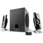 Cyber Acoustics 18W Peak Power - Speaker System with Control Pod CA-3090