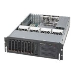 Supermicro SC833 T-653B - Rack-mountable - 3U - extended ATX - SATA - hot-swap 650 Watt - black
