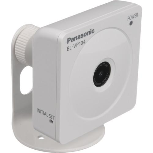 Panasonic BLVP104P H.264 HD Network Camera - White