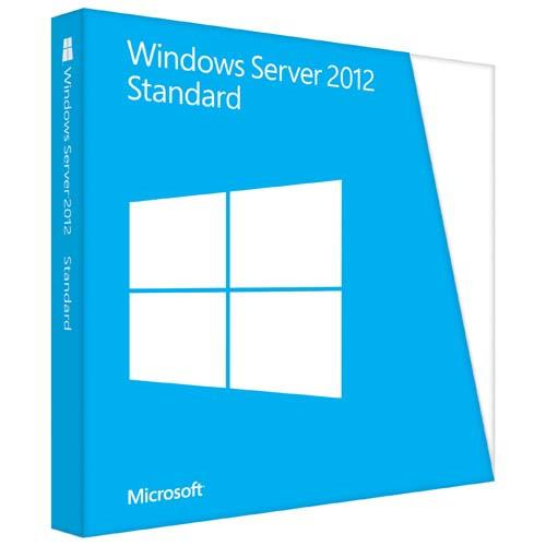 Microsoft Windows Server 2012 Standard - license and media