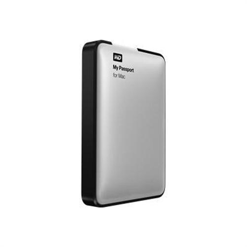 WD My Passport for Mac 500GB Portable External Hard Drive Storage USB 3.0