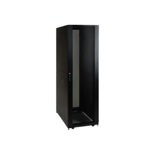 TrippLite 42U SmartRack Premium Enclosure - Thread (10-32) Mounting Holes (includes doors and side panels)