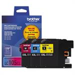 Brother LC1053PKS - Super High Yield - yellow, cyan, magenta - original - ink cartridge LC1053PKS