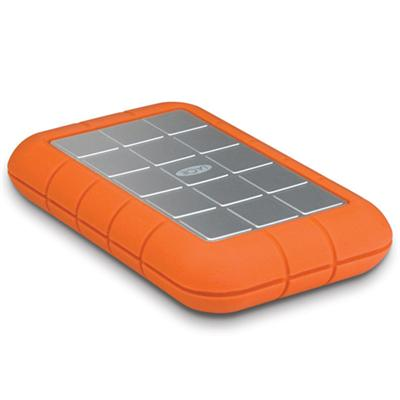 LaCie 500GB Rugged Triple - FireWire 800 / SuperSpeed USB 3.0 - 7200 rpm - Refurbished (301983-R)