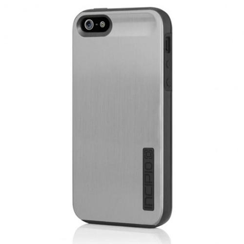 Incipio Dual Pro Shine for iPhone 5 - Silver / Obsidian Black
