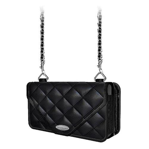 MarBlue Zoey iPhone 5 Case Leather Wallet - Onyx