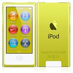 Apple iPod nano 16GB Yellow (7th Generation) with Engraving MD476LL/A