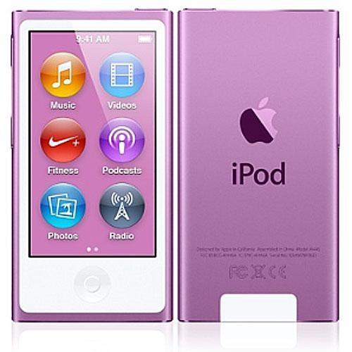 macmall apple ipod nano 16gb purple 7th generation