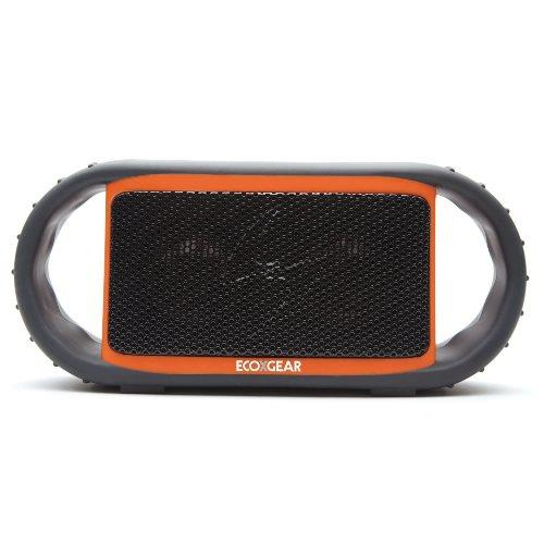 Grace Digital Audio ORANGE WATERPROOF BLUETOOTH SPEAKER