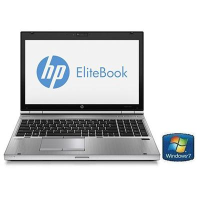 HP EliteBook 8570p Intel Core i7-3520M Dual-Core 2.90GHz Notebook PC - 4GB RAM, 500GB HDD, 15.6