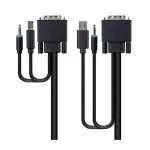 DVI USB AUD KVM CABLE  6FT