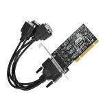 ID-P40311-S1 - Serial adapter - PCI low profile - RS-422/485 - black