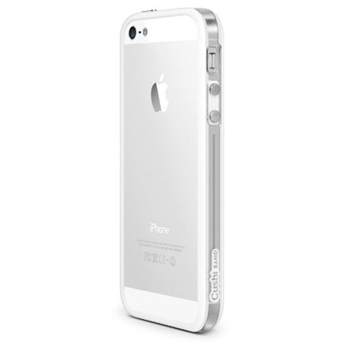 id America Cushi Band Case for iPhone 5 - White (Clear)