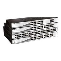 D-Link Web Smart DGS-1210-28P - Switch - managed - 24 x 10/100/1000 (PoE) + 4 x Gigabit SFP - desktop, rack-mountable - PoE DGS-1210-28P