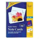 Avery Dennison Note Cards - postal card paper - 50 sheet(s) 8315