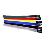 Cable tie - 8 in - gray, black, blue, yellow, red, green (pack of 6 )