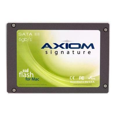 Axiom MemorySignature III for Mac Pro - solid state drive - 120 GB - SATA 6Gb/s(AMPSSDS32120-AX)