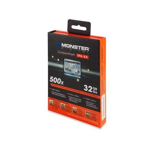 Monster Digital 32GB Type 1 CompactFlash Card 500X