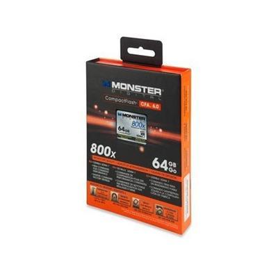 Monster Digital64GB Type 1 CompactFlash Card 500X(CFA-0064-605)