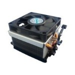 CJC689C - Processor cooler - (Socket 754, Socket 940, Socket 939, Socket AM2) - aluminum with copper base - 70 mm - 3U