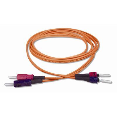 Cables To Go  2m MULTIMODE ST/SC DUPLEX FIBER PATCH CABLE (09129 )
