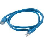 3ft Cat5e Snagless Unshielded (UTP) Network Patch Ethernet Cable - Blue - Patch cable - RJ-45 (M) to RJ-45 (M) - 3 ft - UTP - CAT 5e - molded - blue