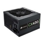 CX430 - Power supply (internal) - ATX12V 2.3/ EPS12V - 80 PLUS Bronze - AC 90-264 V - 430 Watt - active PFC - United States - matte black