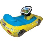 CTA Digital iPad with Retina display/iPad 3rd Gen/iPad 2 SpongeBob SquarePants Inflatable Sports Car NIC-SIK