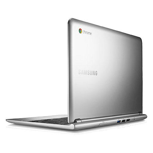 "Samsung Chromebook XE303C12-A01US Exynos 5 Dual -Core 1.70GHz - 2GB RAM, 16GB SSD, 11.6"" LED HD, 802.11a/b/g/n, Webcam, 2-cell Li-Po, Silver"