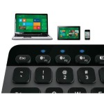 Logitech Bluetooth Illuminated Keyboard for Mac, PCs, iPads, Tablets, iPhones & Smartphones - Black 920-004292