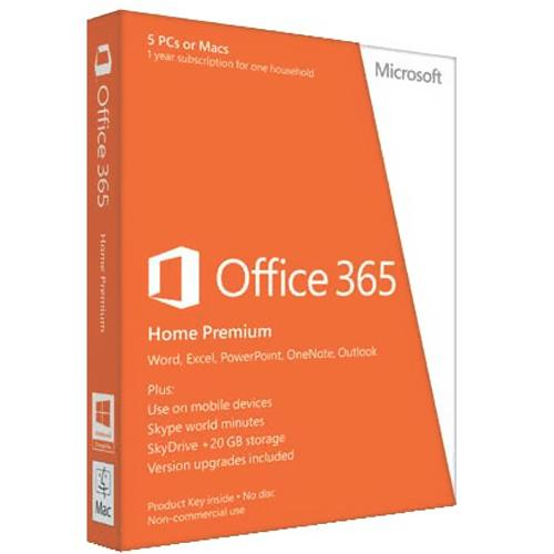 Microsoft Office 365 Home Premium (Electronic Software Download Version)