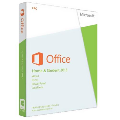 Microsoft Office Home and Student 2013 - license