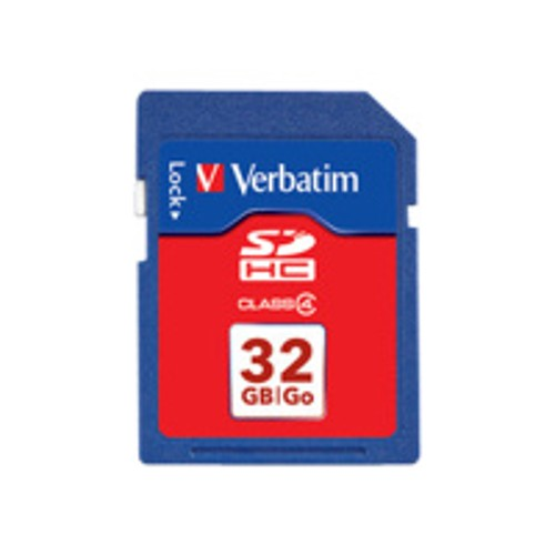 Verbatim flash memory card - 32 GB - SDHC