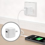 Apple 12W USB Power Adapter - power adapter MD836LL/A