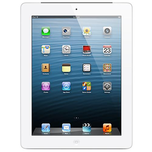 "Apple iPad with 9.7"" Retina Display (4th generation) - 16GB Wi-Fi - White"